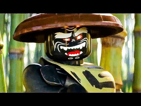 The Lego Ninjago Movie 10 Minutes (2017) Animated Movie HD