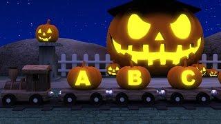 Learn ABC's with Alphabet Halloween Pumpkin Song | Halloween ABC Songs