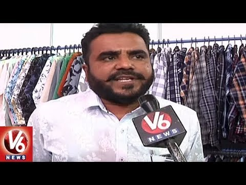 Apparel Manufacturers Of India Launches Trade Fair In Hyderabad | V6 News