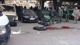 Suriye'nin başkenti Şam'da kanlı cuma