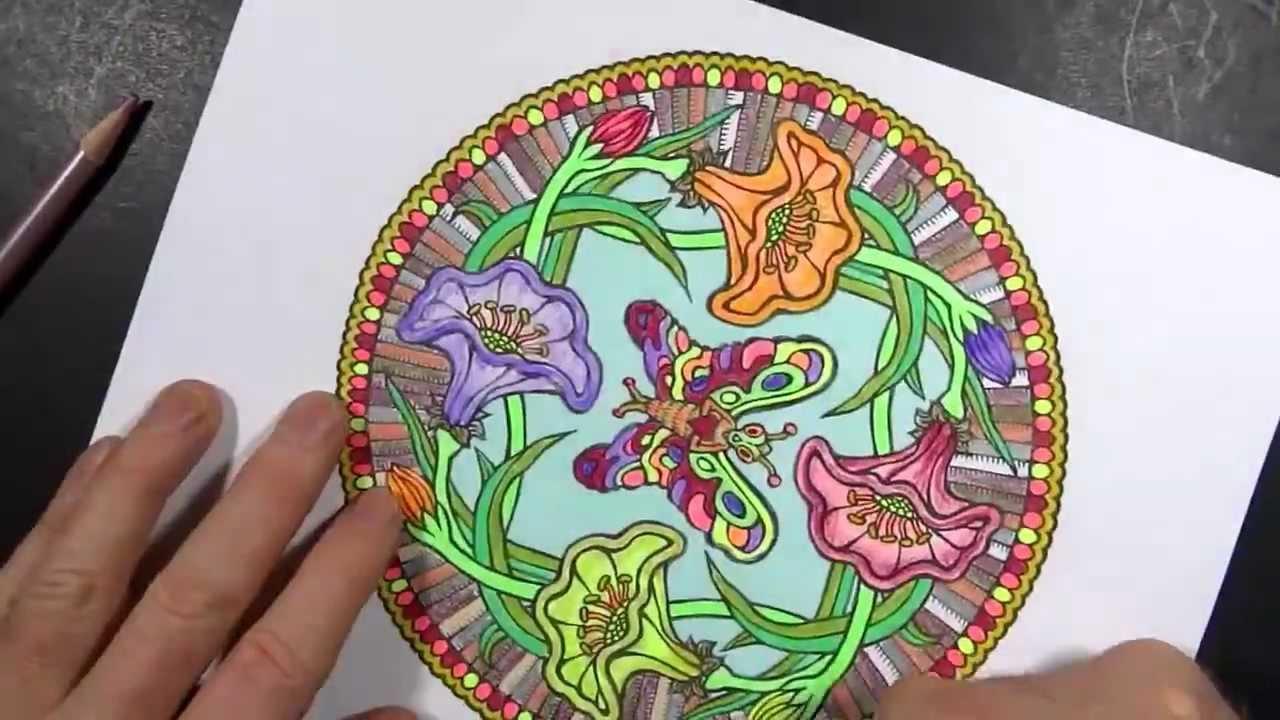 Coloring Book Art Mandala 1