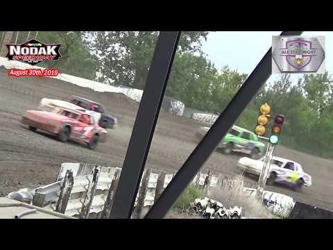 Nodak Speedway IMCA Hobby Stock All-Star LCQ (8/30/19)