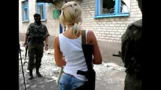 Самые милые, нежные и храбрые! Девушки Новороссии!