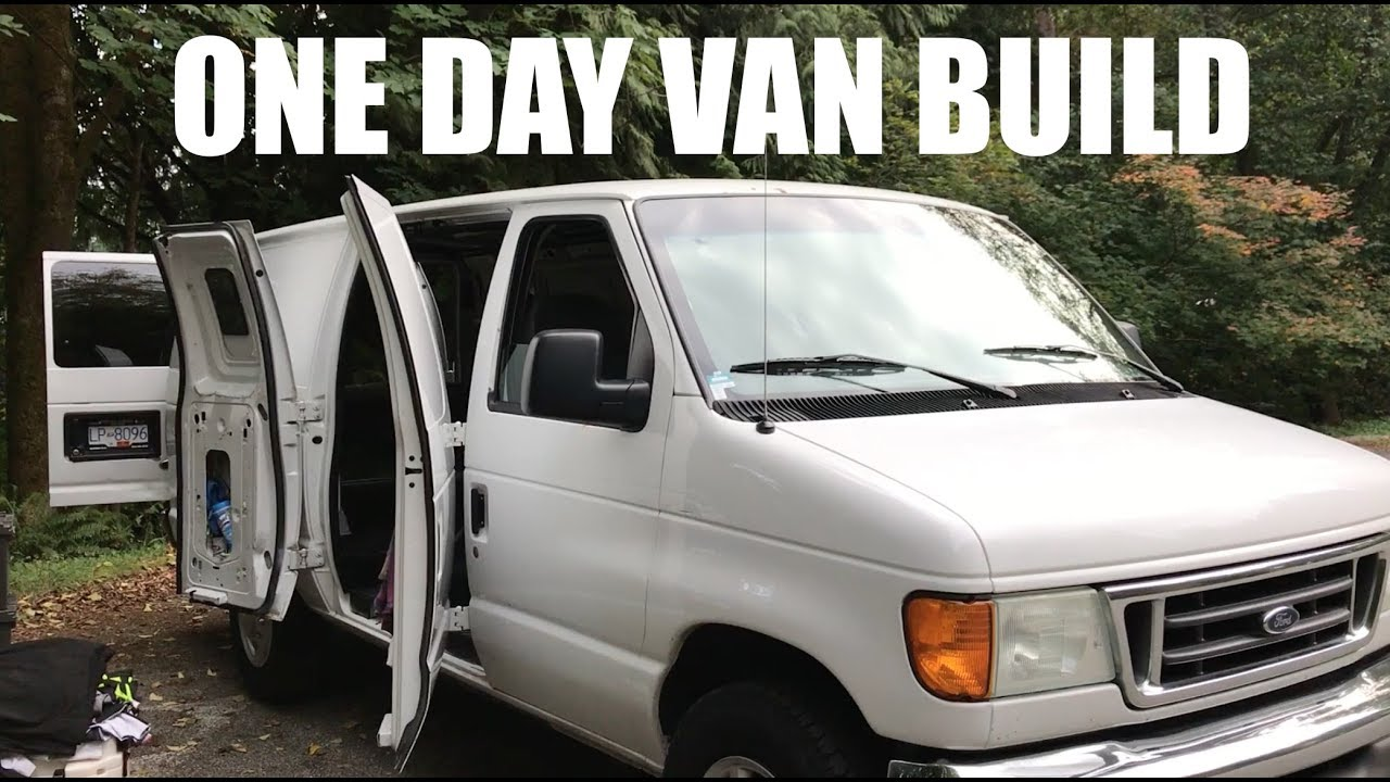 How To Build A Stealth Van In One Day Van Life Canada