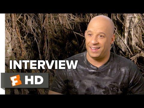 The Last Witch Hunter Interview - Vin Diesel (2015) - Elijah Wood, Rose Leslie Movie HD
