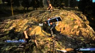 Download Video Final Fantasy XV PS4 Gameplay   Sparring with Gladiolus   Episode Duscae   Japanese MP3 3GP MP4