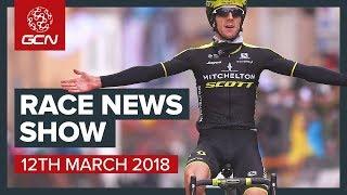 The Cycling Race News Show: Paris Nice, Tirreno Adriatico, Ronde Van Drenthe And The Tour Of Taiwan