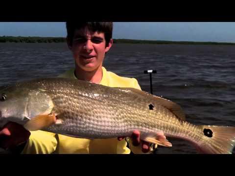 Redfish Fishing St Augustine Florida! (Upper Slot Fish!)