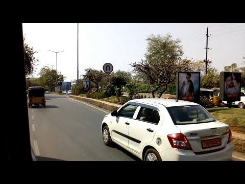Raw Footage - Hyderabad Pension Office to Jubilee Hills Checkpost - Free Use - ComeTube Library