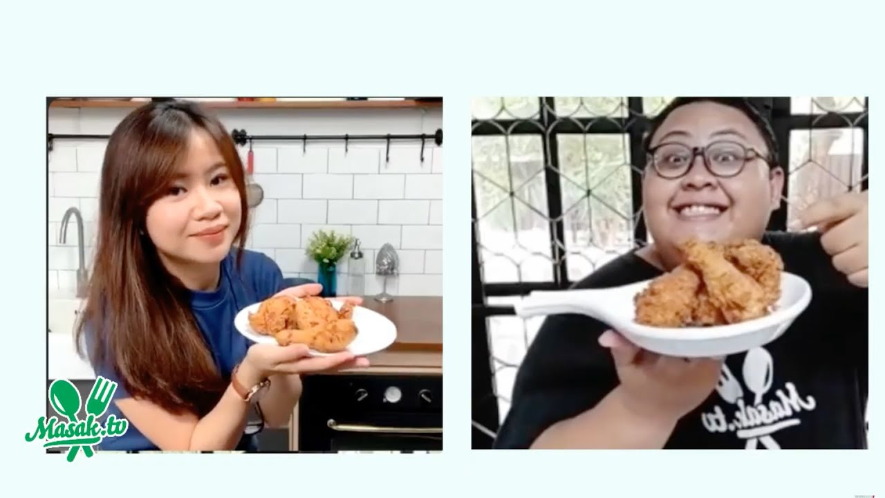 Ayam Goreng Crispy Ala KFC | #Tantangancrew