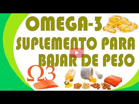 Omega 3 para adelgazar