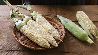 figcaption [키친가이드] 초간단! 옥수수 맛있게 삶는 법!🌽 : How to Cook Corn on the Cob [아내의 식탁]