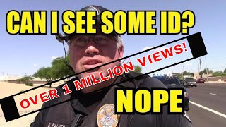 1st Amendment Audit Mesa PD wants ID