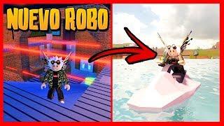 JAILBREAK *NEW ROBO* AND NEW WATER MOTO - Roblox UPDATE