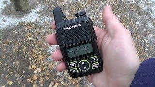 рация Baofeng BF-T1 mini - обзор и тесты