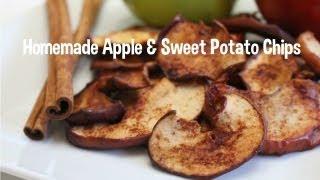Cinnamon Apple & Sweet Potato Chips Recipes