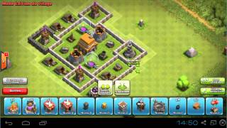 video 1 construire une ville farming hdv lv 5 clash of clans. Black Bedroom Furniture Sets. Home Design Ideas