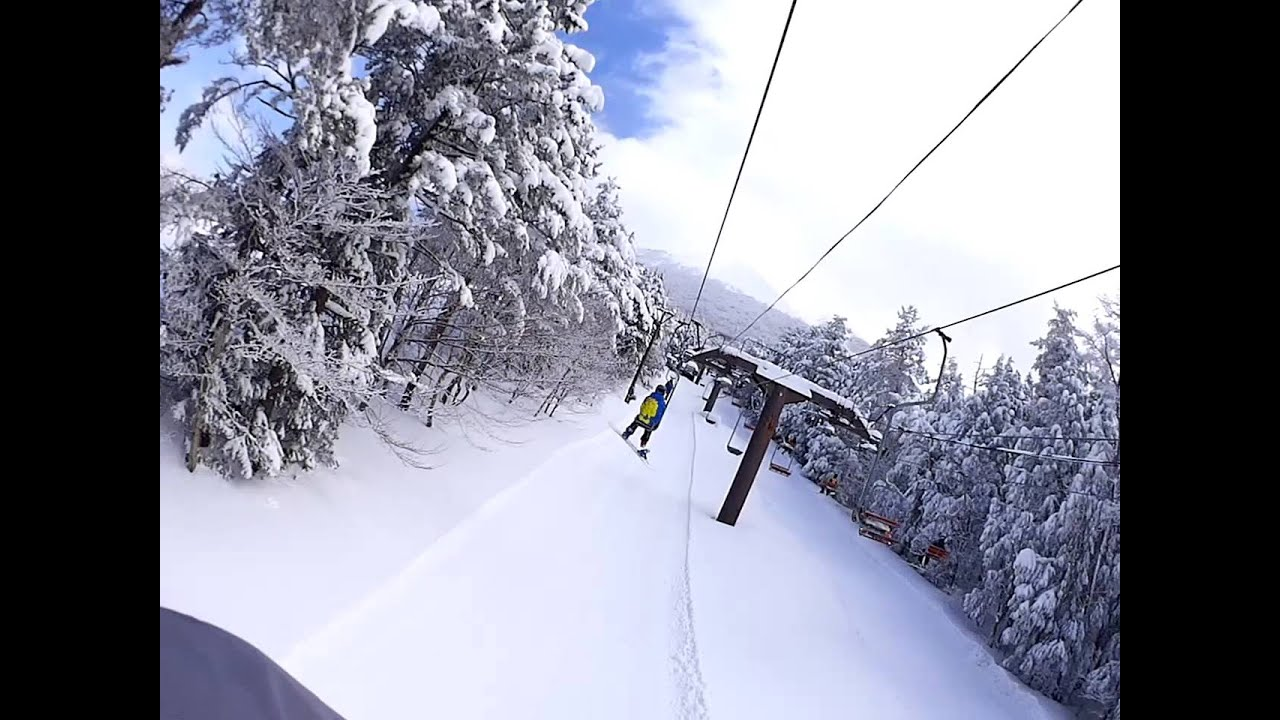 大山桝水高原スキー場1号リフトW...