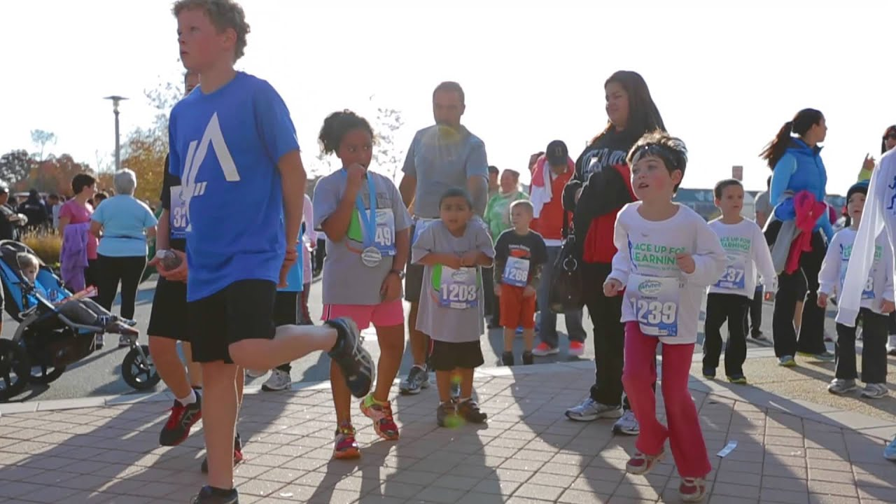 Lace Up For Learning Inaugural 5K in Brambleton - YouTube