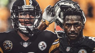 Why the Antonio Brown & Juju Smith-Schuster feud is GREAT for the NFL