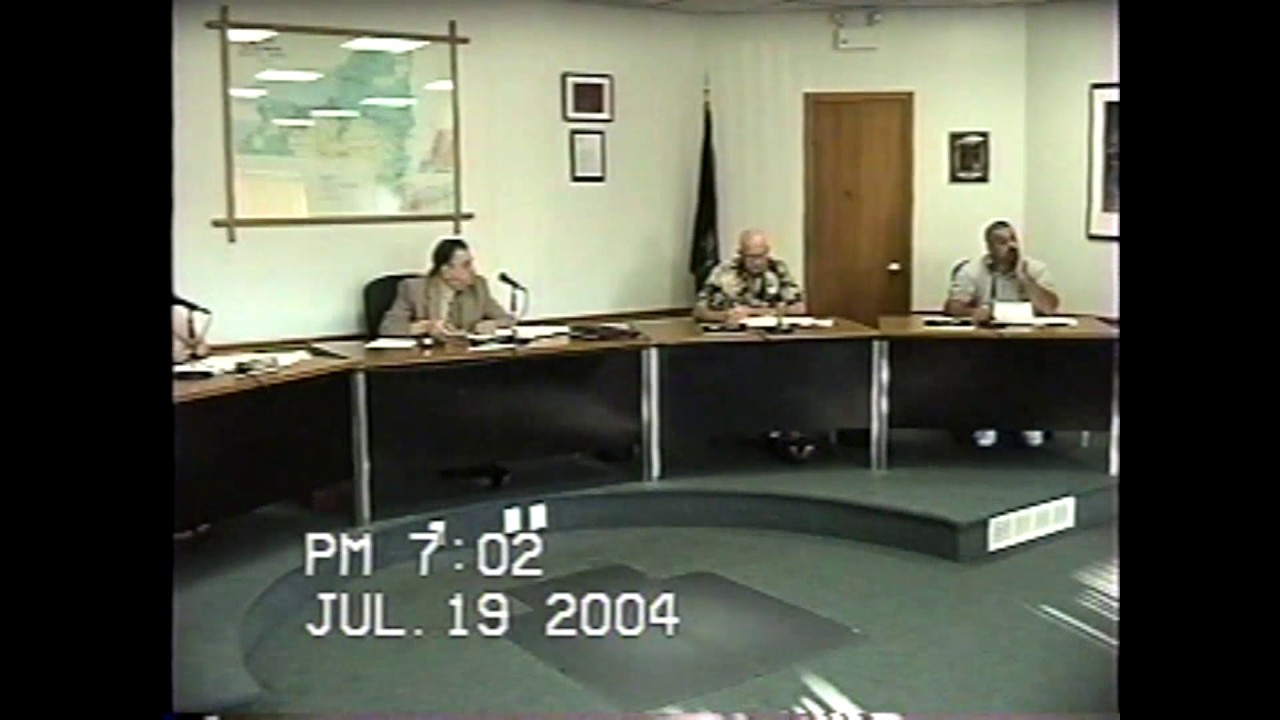 Rouses Point Village Board Meeting  7-18-04
