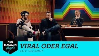 Viral oder egal mit Gronkh | NEO MAGAZIN ROYALE mit Jan Böhmermann - ZDFneo