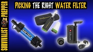 The Complete Guide to Water Filters For Preppers