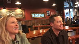 One Chicago Day 2019: Interview with Chicago PD's Jesse Lee Soffer and Tracy Spiridakos
