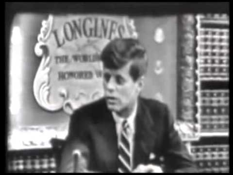 Congressman John F  Kennedy Interview 1952