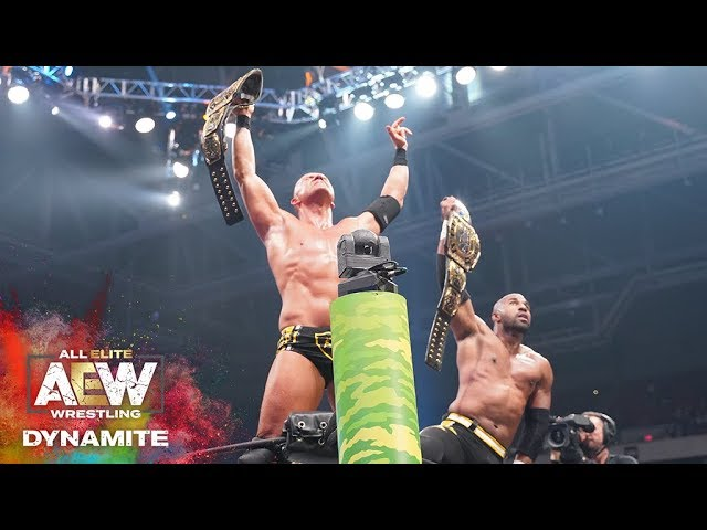 #AEW DYNAMITE EPISODE 5 HIGHLIGHTS: SCU BECOMES THE FIRST AEW WORLD TAG TEAM CHAMPIONS