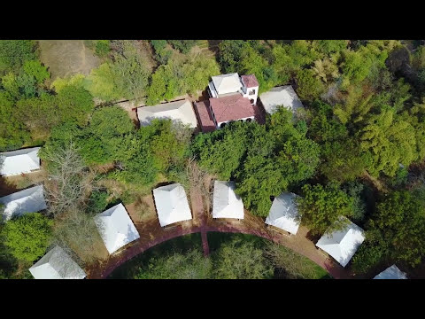 Sherbagh Tented Camp Ranthambhore luxury hotels Drone Video