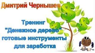 Тренинг Денежное дерево   готовые инструменты для заработка 20000   50000 р в месяц