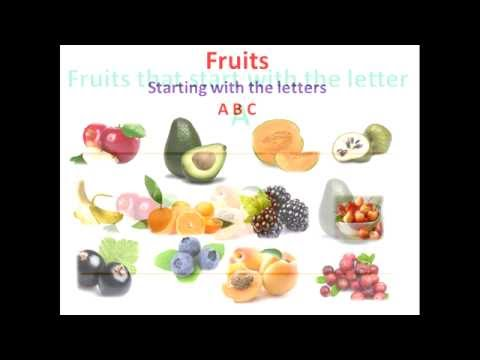 fruits that start with the letter a fruits starting with the letters abc 45075