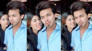 Ajmal Khan with his wife Jumana Khan Dusbmash