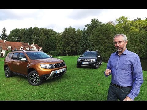 Le nouveau Dacia Duster face à son prédécesseur