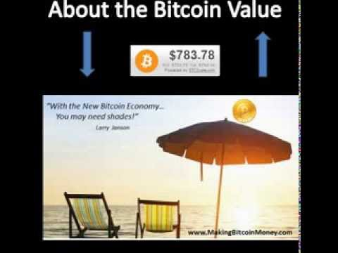 Bitcoin Value and Beach Front Property