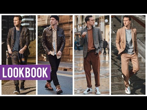 My Designer Lookbook from Milan Fashion Week 2019 | 8 Unique Outfits | Men's Fashion