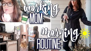 Full Time Working Mom Morning Routine 2020 | Realistic Productive Working Mom Tips