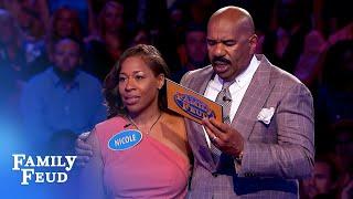 WOW!!! Nicole KOs Fast Money! | Family Feud
