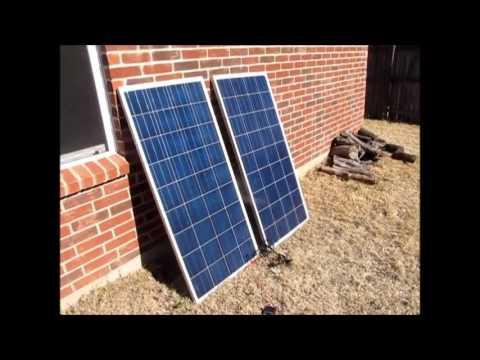 DM Solar 145 Watt Solar Panels - Initial Test