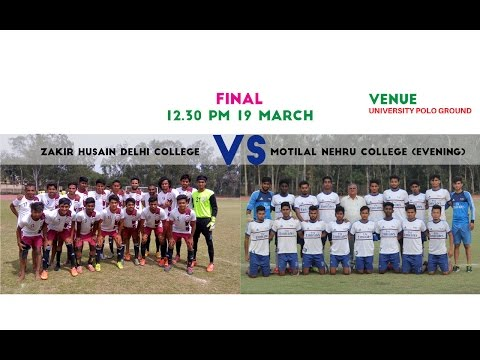 Inter-College Final, Zakir Hussain vs Motilal(E)