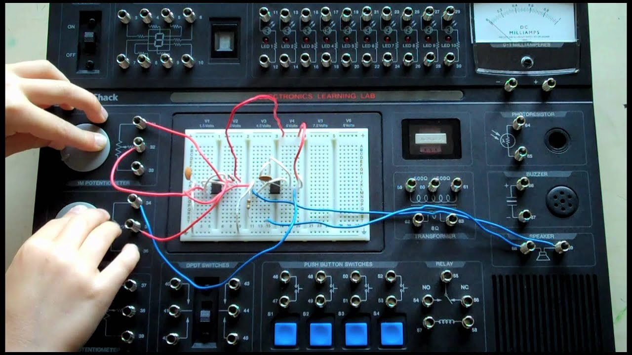 Electronics Learning Lab Sound Synthesizer Youtube