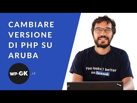 WordPress: gestire la versione di PHP su Aruba (shared)