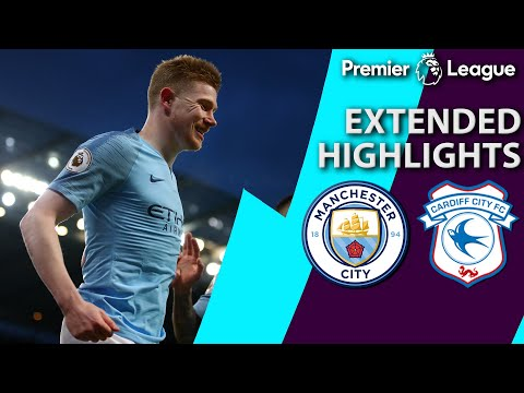 Manchester City v. Cardiff City | PREMIER LEAGUE EXTENDED HIGHLIGHTS | 4/3/19 | NBC Sports