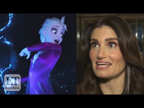 Idina Menzel Talks 'Frozen 2' Song 'Into The Unknown'