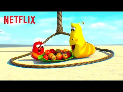 Will Chuck Ever Trap Red & Yellow? 🏝️ Larva Island | Netflix