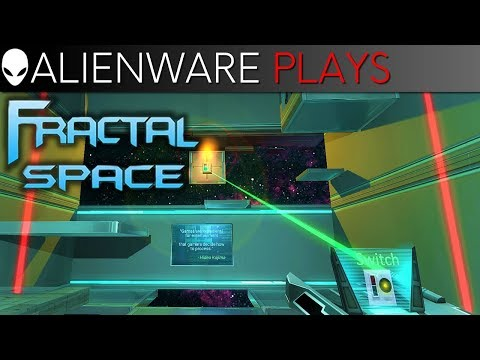 Alienware Plays Fractal Space – AlienFX Gameplay on Aurora