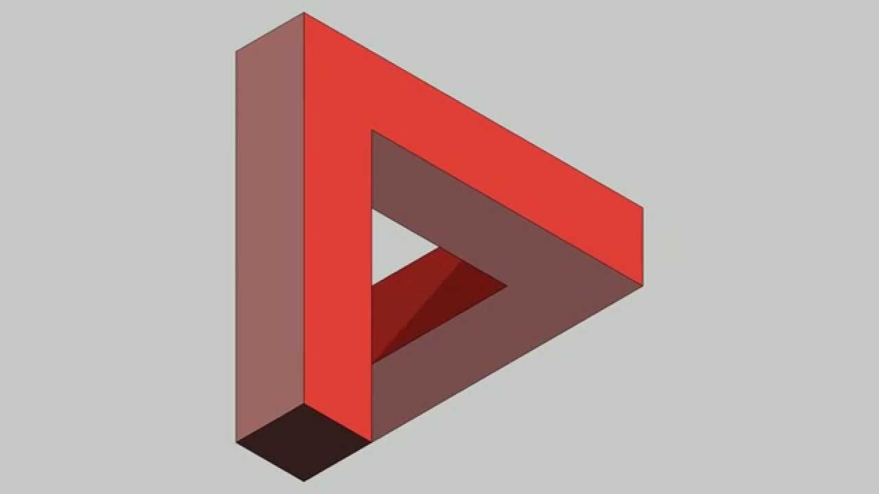Penrose triangle - YouTube