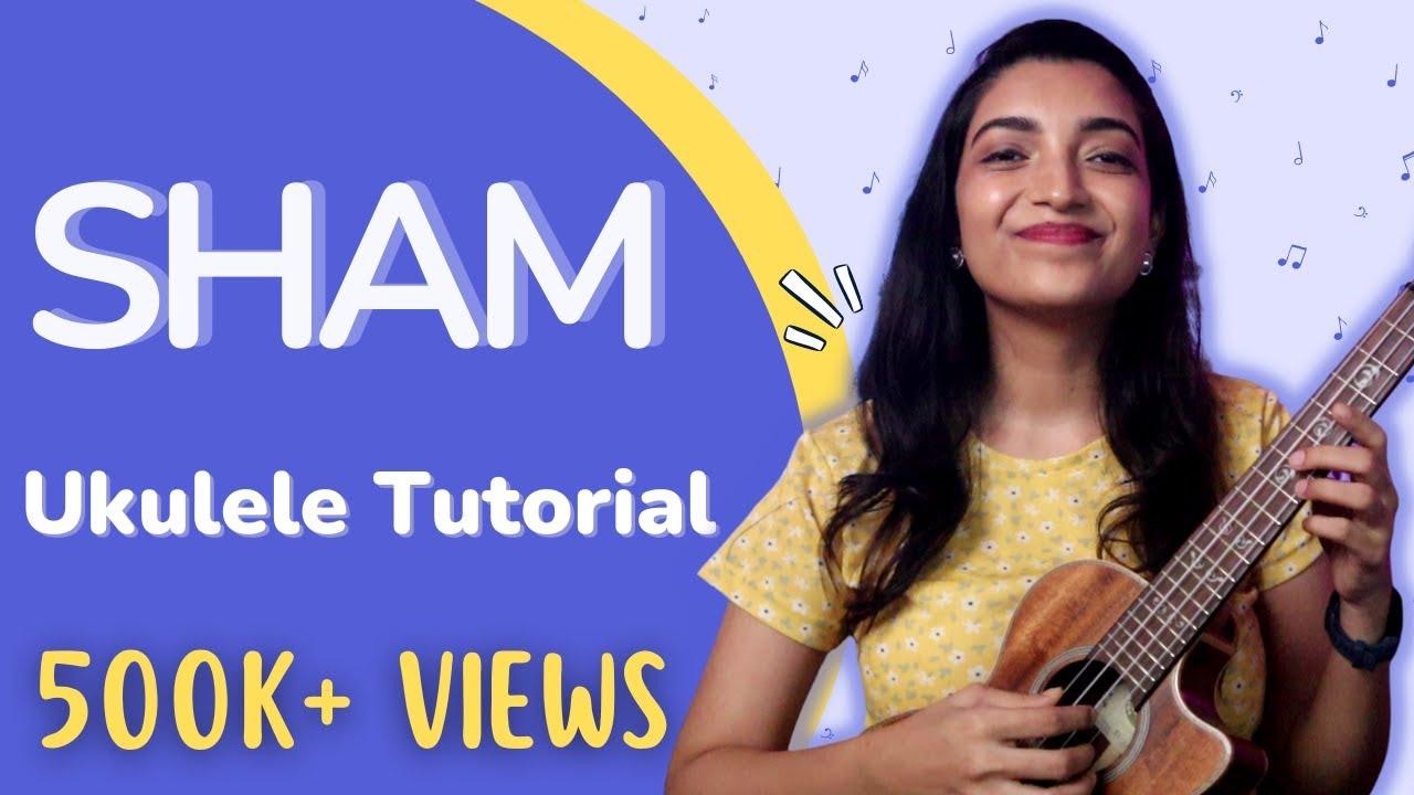 Sham (Aisha) | Easy Hindi Ukulele tutorial | Only 4 Basic Chords