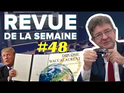 #RDLS48 : MÉDIAS, JÉRUSALEM, UNIVERSITÉ, ONE PLANET SUMMIT